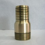 "2"" Red Brass King Nipple"