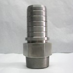 "2"" Stainless Steel Threaded Stem"